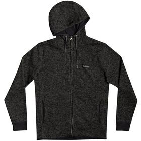 Quiksilver Keller Zip Top In Pile Con Cerniera Uomo, dark grey heather